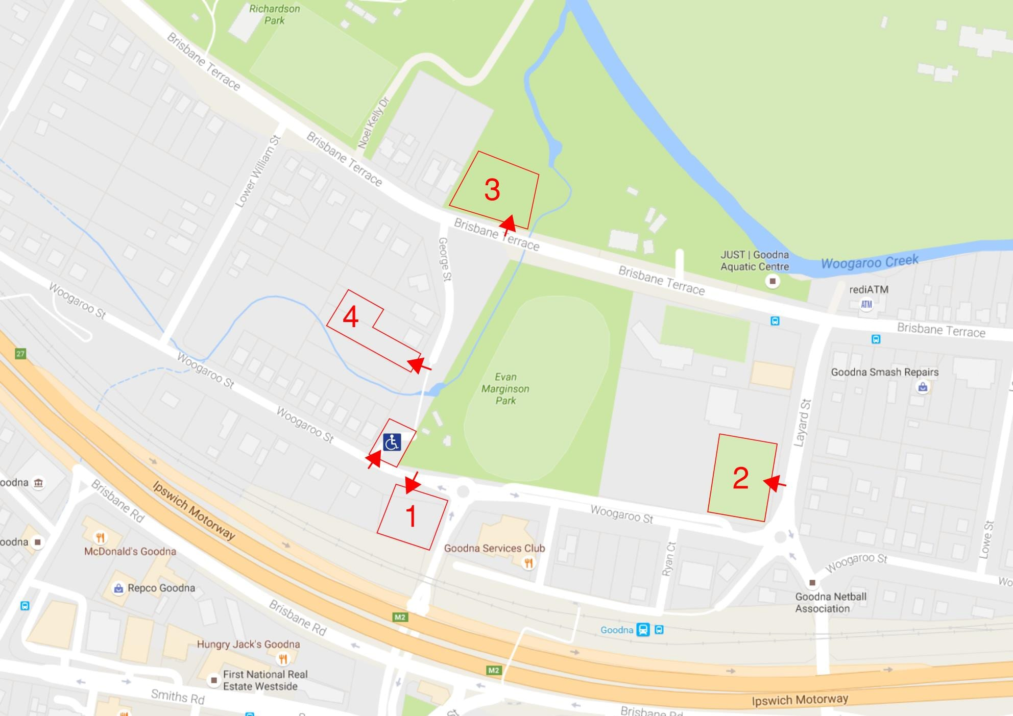 Car parking Map