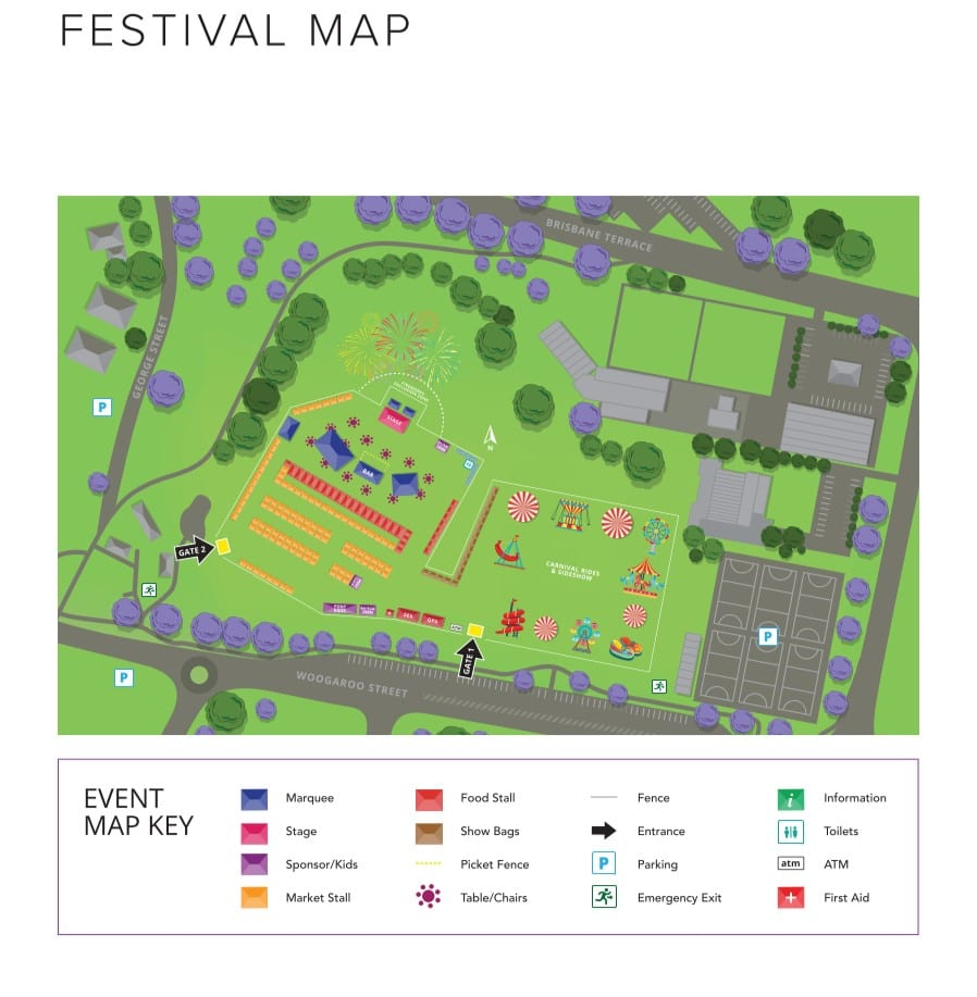 2020 Proposed Festival Map