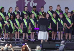 School Choir Singing Sensations