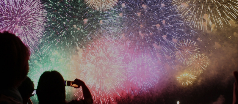 Fireworks Slider Image