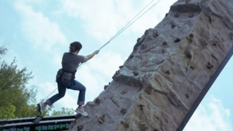 Rock Wall Ride