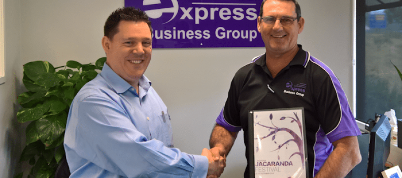 Express Business Group Announces Platinum Sponsorship